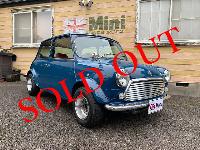 SOLD OUT '91 MINI 1000 (A/T) ブルー