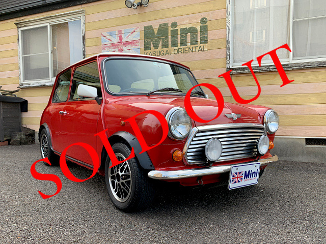 SOLD OUT '95 クーパー 1.3i  (M/T) 白・赤