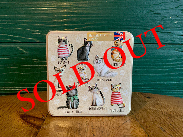 SOLD OUT iF-1 『Grandma Wild's』ビスケット(Cats缶) 160g