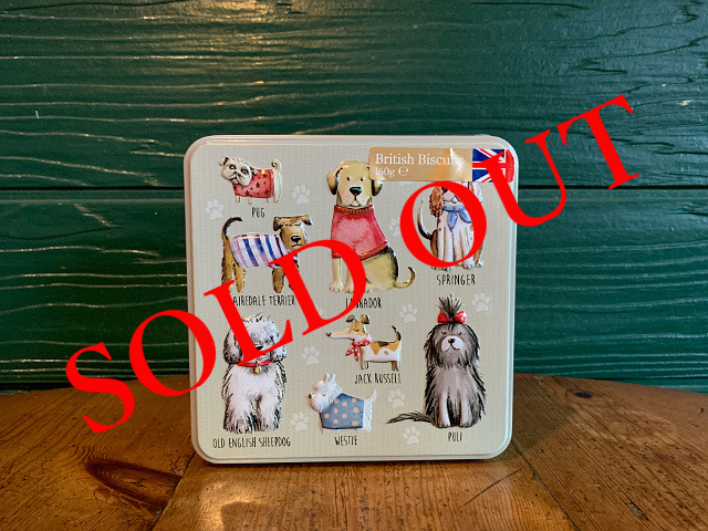 SOLD OUT iF-2 『Grandma Wild's』ビスケット(Dogs缶) 160g