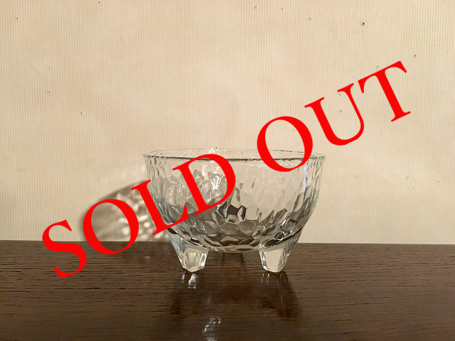 SOLD OUT g-7 脚付きボール(320ml)made in MEXICO