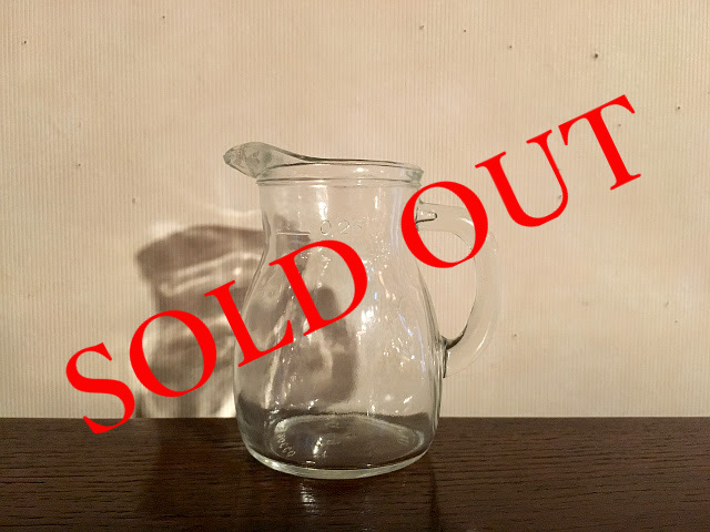 SOLD OUT g-11 ピッチャー(250ml)made in ITALY