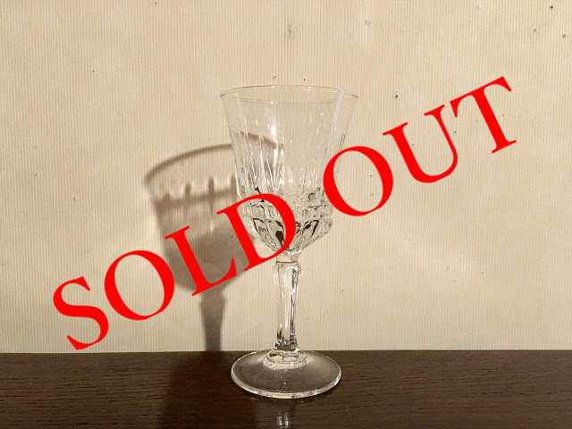 SOLD OUT g-4 赤ワイングラス(170ml)made in FRANCE