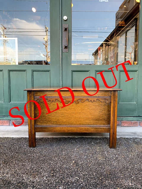 SOLD OUT アンティーク コファー 21003
