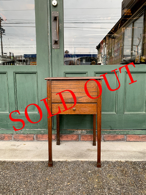 SOLD OUT アンティーク ソーイングボックス 21004