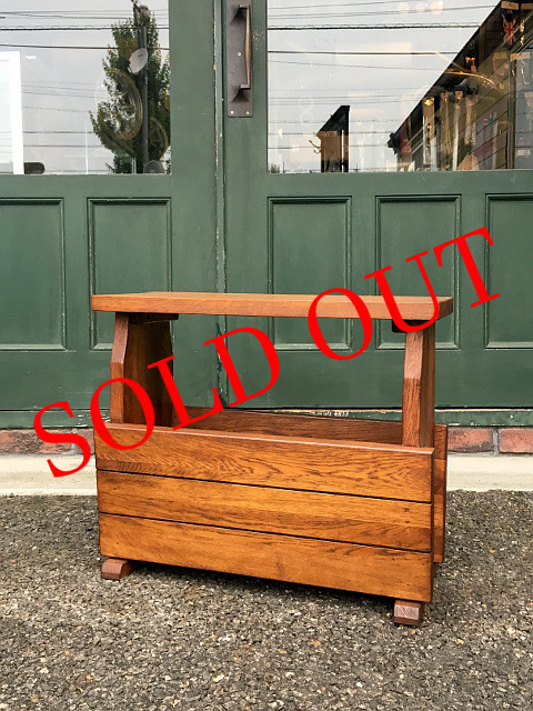 SOLD OUT アンティーク マガジンラック 30002