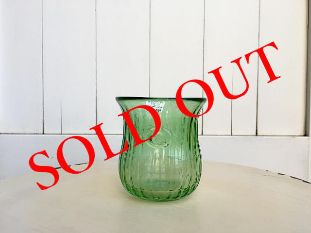 SOLD OUT P-9 Persian手吹きガラス(ミニグラスGN) 約φ7×H8cm