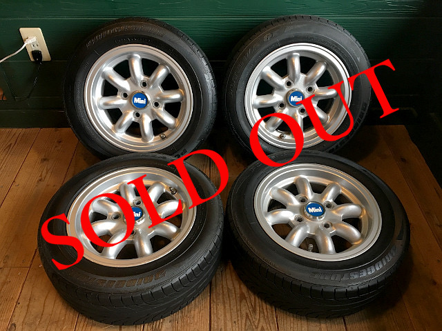 SOLD OUT 〔中古〕ミニマルヤマ5.5J アルミホィール P1704