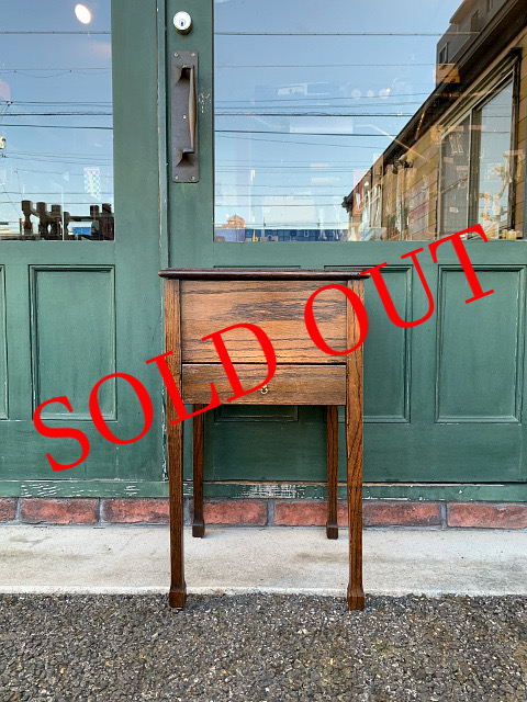 SOLD OUT アンティーク ソーイングボックス 21008