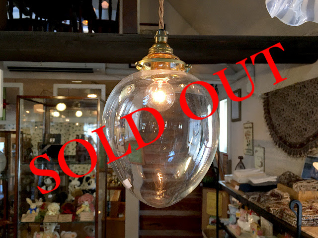 SOLD OUT  クリアシェード(卵型) 1838