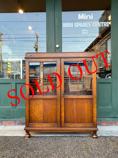 SOLD OUT アンティーク ブックケース 21024