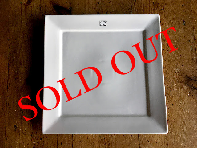 "SOLD OUT T-2 ""HOTEL LINE""シリーズ SQUARE PLATE L"
