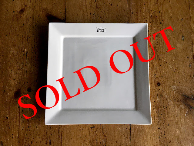 "SOLD OUT T-1 ""HOTEL LINE""シリーズ SQUARE PLATE M"