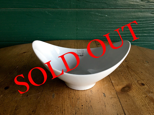 "SOLD OUT T-3 ""HOTEL LINE""シリーズ OVAL BOWL(Moon)"