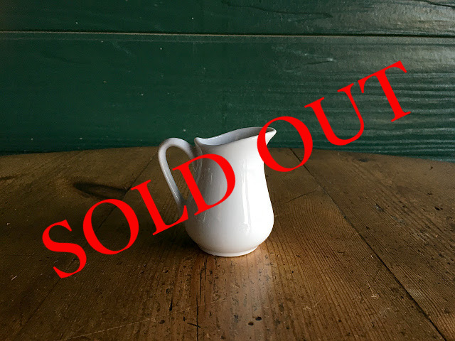 """SOLD OUT T-7 """"HOTEL LINE""""シリーズ MILK PITCHER"""