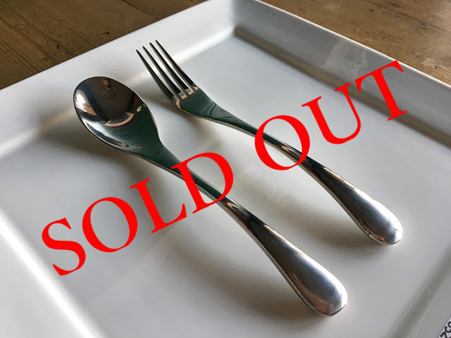 SOLD OUT T-15 ARC DINNER SPOON・FORK