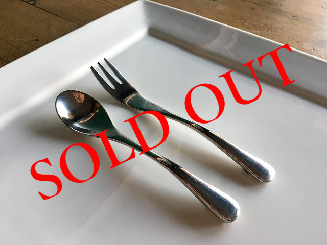 SOLD OUT T-14 ARC TEA SPOON・CAKE FORK