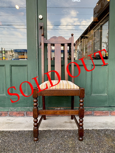 SOLD OUT アンティーク ダイニングチェア 21029-1