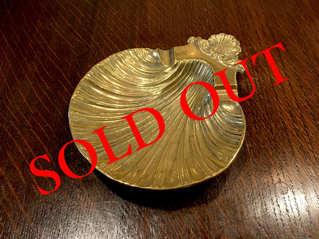 SOLD OUT 真鍮 トレー シェル br49