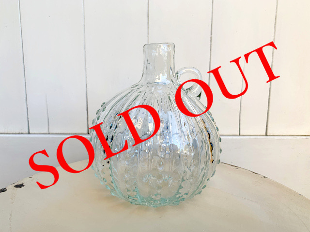SOLD OUT P-29 Persian手吹きガラス(フラワーベース) 約φ12×H13.5cm