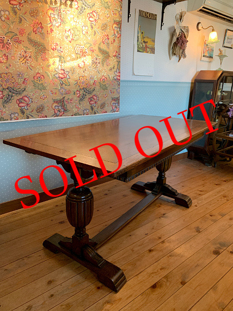 SOLD OUT アンティーク リフェクトリーテーブル 26055