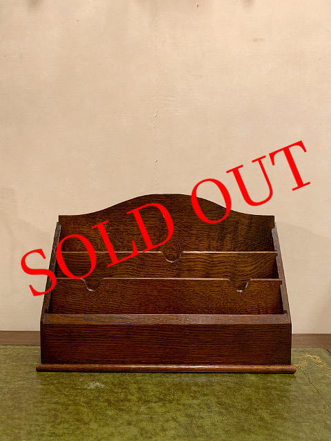 SOLD OUT アンティーク 『VETERAN SERIES』 レターラック 31035