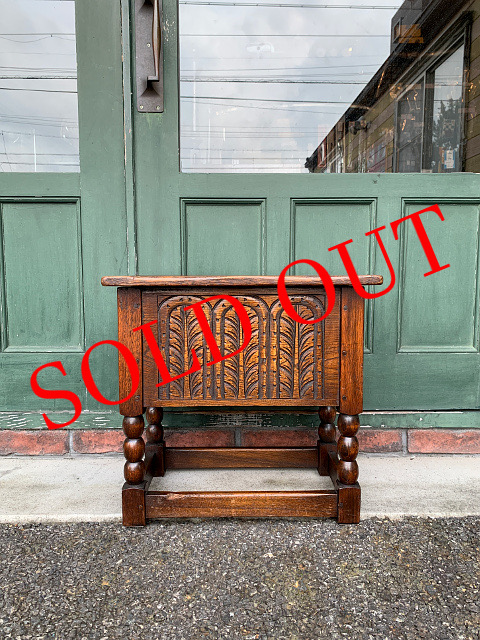 SOLD OUT アンティーク ミニコファー 21040