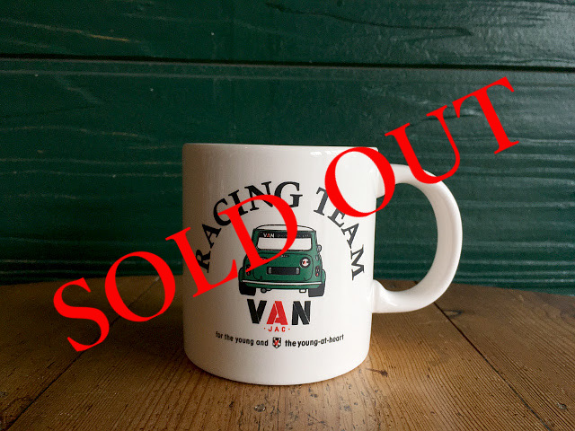 "SOLD OUT ""RACING TEAM VAN"" マグカップ A1732"