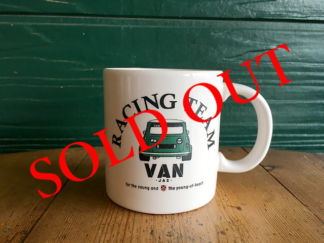 "SOLD OUT ""RACING TEAM VAN"" マグカップ  A1733"