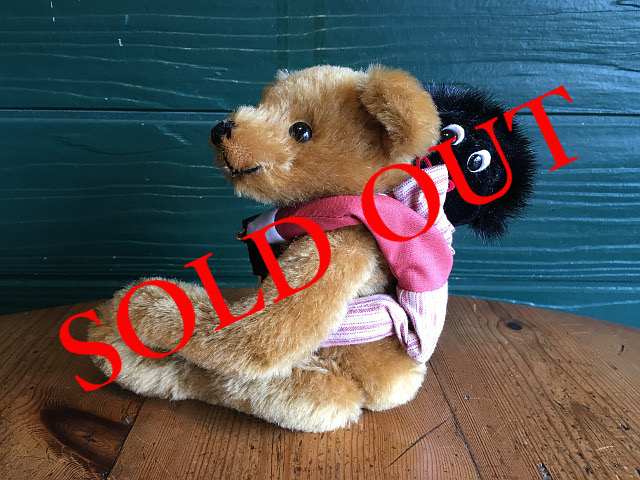 SOLD OUT テディベア 「Chums-A BEAR&GOLLY BACKPACK SET」