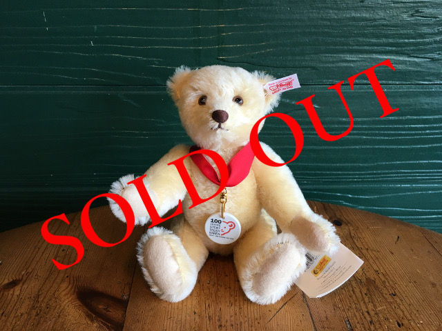 SOLD OUT テディベア 「Anniversary TEDDY BEAR」
