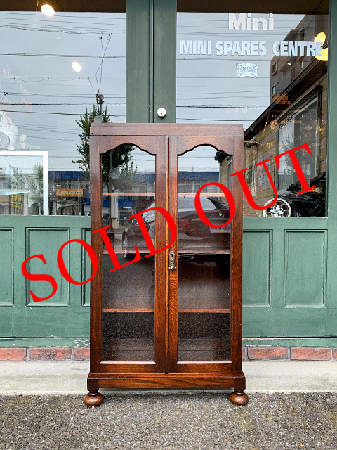 SOLD OUT アンティーク ブックケース 21037