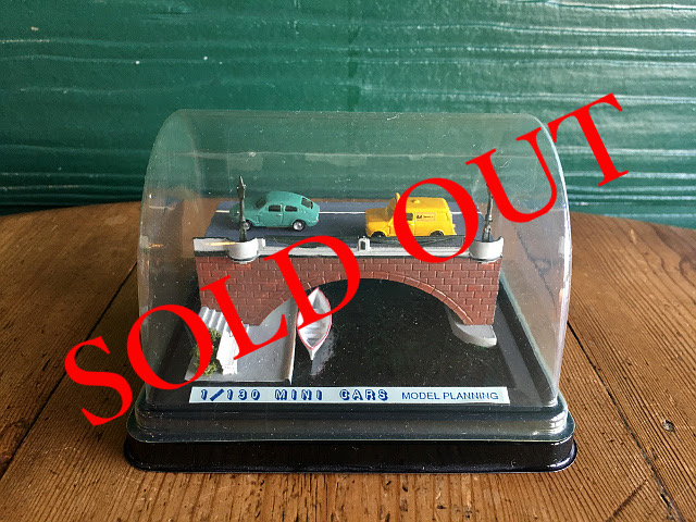 SOLD OUT 『MODEL PLANNING』 MINI CARS ジオラマ A1737