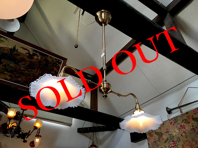 SOLD OUT ツインペンダントライト(シェード556)