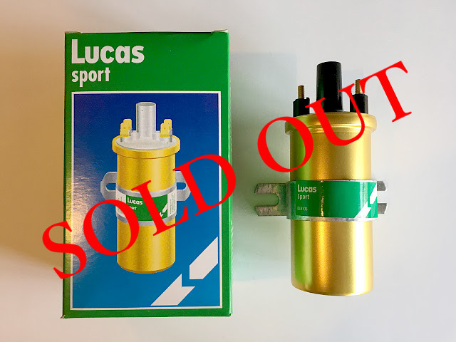 SOLD OUT Lucas sport DLB105 ゴールドコイル P1718