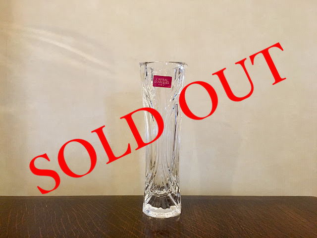 SOLD OUT g-17 フラワーベース made in FRANCE