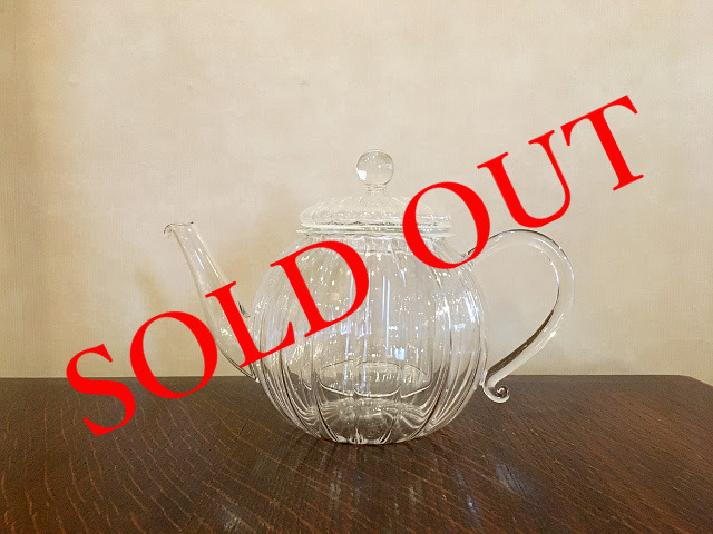 SOLD OUT g-25 ガラスティーポット(700ml)