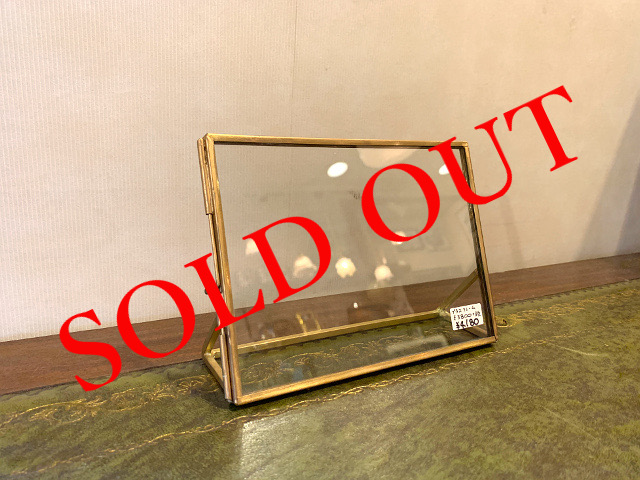 SOLD OUT 真鍮 フォトフレーム br94