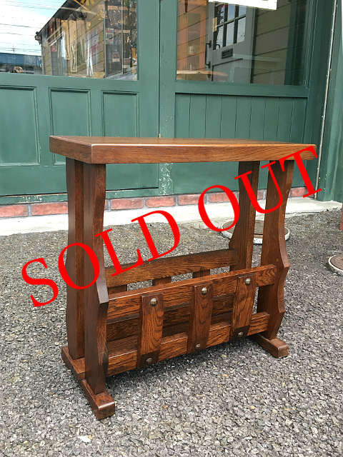 SOLD OUT アンティーク マガジンラック 28034