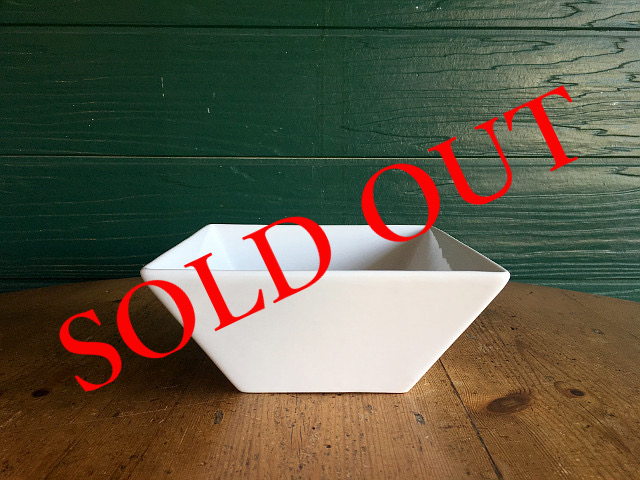 """SOLD OUT T-21 """"HOTEL LINE""""シリーズ SQUARE BOWL M"""