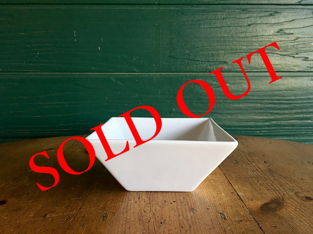 """SOLD OUT T-22 """"HOTEL LINE""""シリーズ SQUARE BOWL S"""