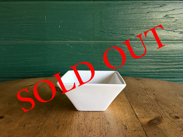 """SOLD OUT T-23 """"HOTEL LINE""""シリーズ SQUARE BOWL XS"""