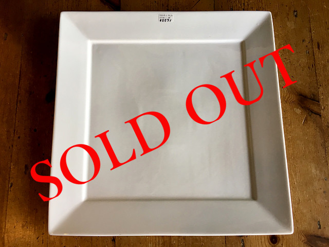"SOLD OUT T-24 ""HOTEL LINE""シリーズ SQUARE PLATE PLATTER"