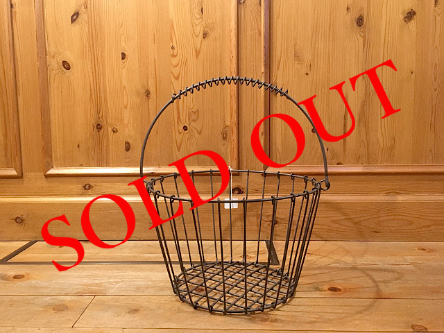 SOLD OUT ワイヤーバスケット