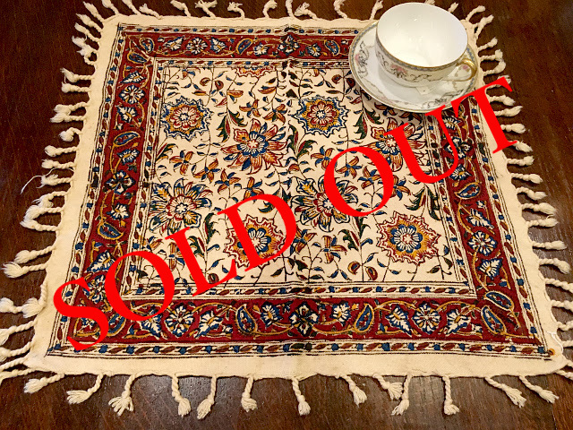 SOLD OUT Persian更紗(40×40cm)