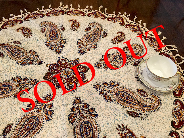 SOLD OUT Persian更紗(径80cm)