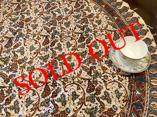 SOLD OUT Persian更紗(径120cm)