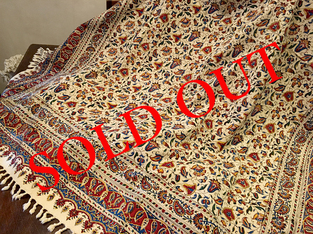 SOLD OUT Persian高級更紗(135×180cm)
