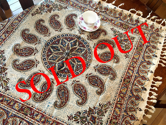 SOLD OUT Ps-19 Persian更紗(100×100cm)