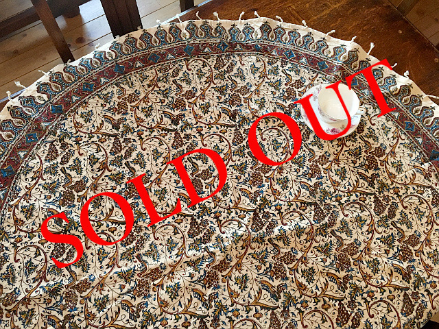 SOLD OUT Ps-22 Persian更紗(径120cm)